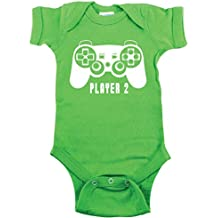 Funny Baby Bodysuits, Humorous mamás Regalos, player 2Body