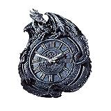 Design Toscano CL2766 Penhurst Dragon Clock Gray