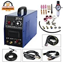 Plasma Cutter/MMA/TIG Welding CT312P 3 in 1 Combo CNC Compatible Welding Machine,TIG/MMA 120A,Non-touch Pilot Arc Plasma Cutter 30A Dual Voltage 220V/110V