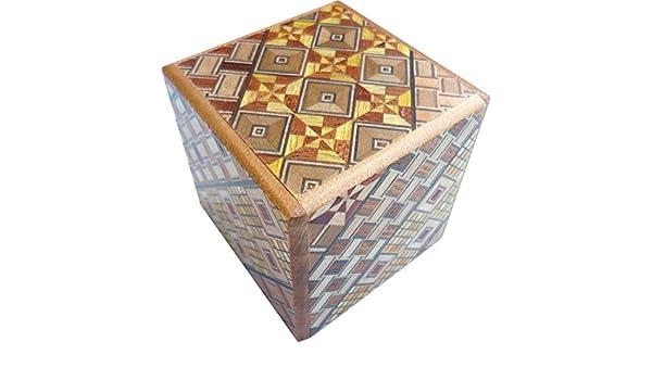 Caja de secretos Himitsu Bako Japón 2 de 10 desplazamientos Cube suns: Amazon.es: Hogar