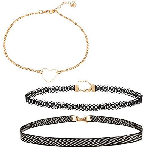 Jewels Galaxy Lac Choker Necklace for Women   Girls