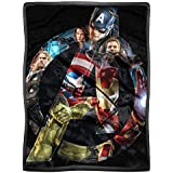 Marvel Avengers: Age of Ultron A Crowd HD Mink Sherpa Throw