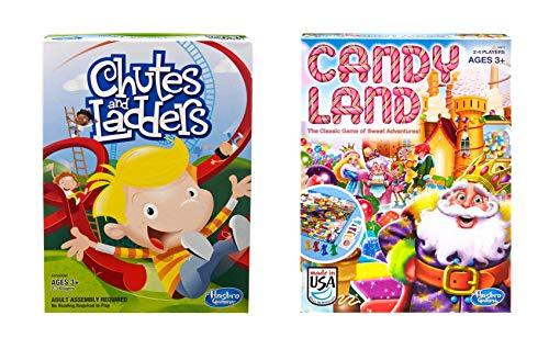 Chutes & Ladders Game + Candy Land Game - Bundle of 2 Games]()