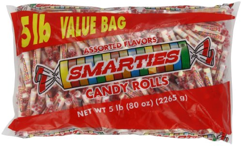 (Smarties Candy Rolls, 5 Pound)