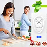 Ultrasonic Pest Repeller Pest Control Ultrasonic Repellent Electronic Pest Repeller Mouse Repellent Ultrasonic Pest Reject Insect Outdoor Or Indoor For Mosquito,Mice,Rat,Roach,Ant,Fly,Flea,Spider