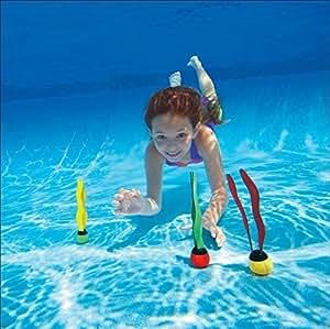 Juego para piscina–Juego de pelotas onduladas lastrados