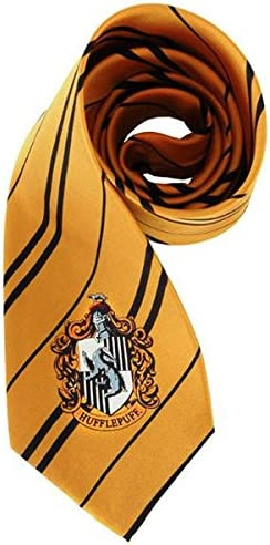 Harry Potter Hufflepuff Corbata amarillo/negro: Amazon.es: Ropa y ...