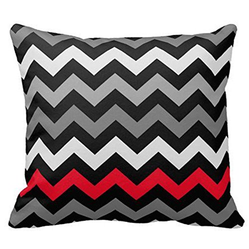 red and black pillows - 5