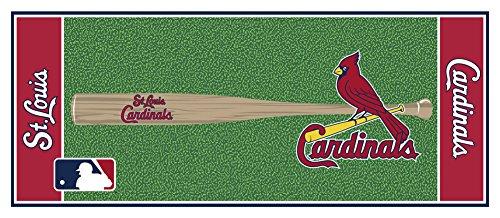 Baseball 30 x 72 Field Runner - St. Louis Cardinals Home Decor (Cardinals Runner Mat)
