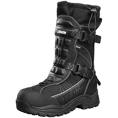 Castle X Barrier 2 Mens Snowmobile Boot - Gray - (10)