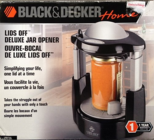 Black & Decker Lids Off Jar Opener Jw275 by BLACK+DECKER