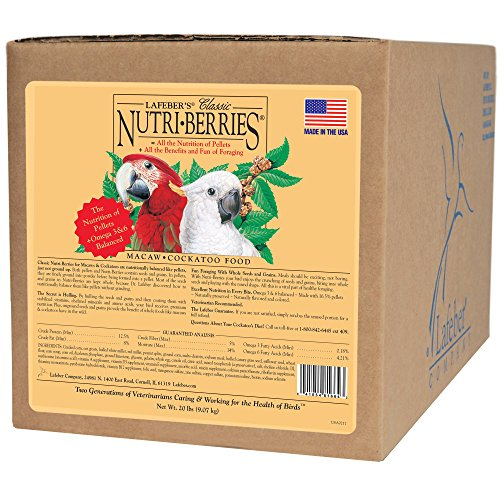 Nutri-Berries Macaw and Cockatoo Food