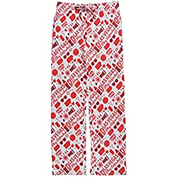 Coca-Cola Las Vegas All Over Men's Loungewear Pants in Heather Grey. M-L.