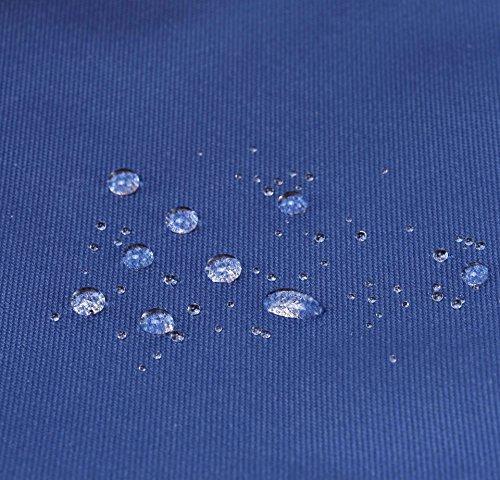 SIMPLAY Mochila Escolar Clásico   44x30x12,5cm   Colores Variados   Turquesa D197B, Azul marino/Vara de Oro