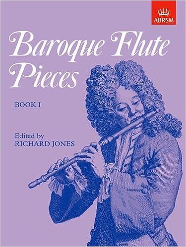 Amazon Com Baroque Flute Pieces Bk 1 9781854727107 Books