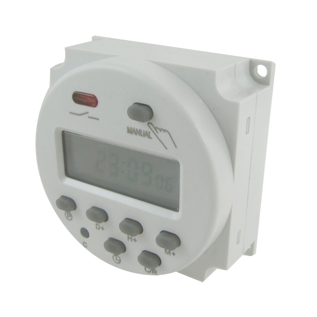 Uxcell DC V Digital LCD Power Programmable Timer Time Switch - 12 volt on off relay