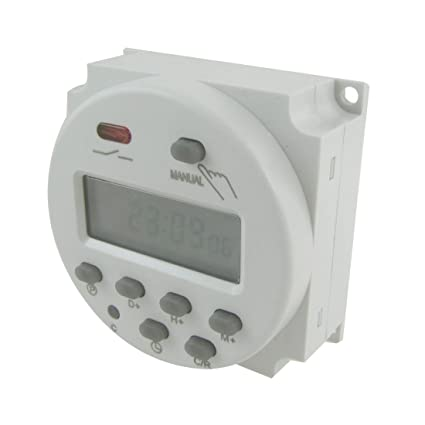 fitTek Temporizador Reloj Programador Timer Digital AC220-240V Semanal