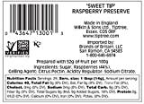 Tiptree Sweet Tip Raspberry Preserve, 12 Ounce Jar