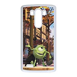 LG G3 Cell Phone Case White Monsters, Inc Phone Case Cover Personalized 3D XPDSUNTR08104