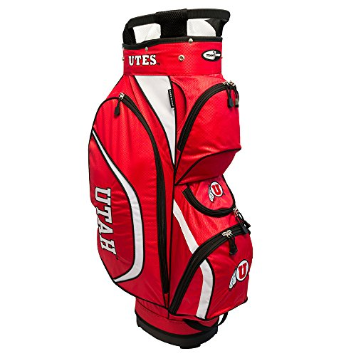 Team Golf NCAA Clubhouse Cart Bag, Utah by Team Golf