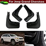 4Pcs Car Mud Flaps Splash Guard Protective Fender Mudguard Mudflaps Mud Guards For Jeep Grand Cherokee 2011 2012 2013 2014 2015 2016 2017 2018 2019 ( not fit for Summit model )