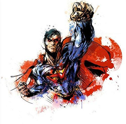 Twenty-three Superheroes Comic Anime Art Silk Fabric Poster