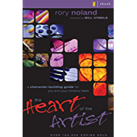 The Heart of the Artist: A Character-Building Guide for You and Your Ministry Team book cover