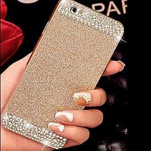 WQQ Cubierta Posterior - Look Diamante - para iPhone 6 ( Negro/Blanco/Azul/Rosa/Oro/Plata , Policarbonato ) , Silver