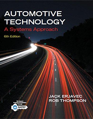 Automotive Technology: A Systems Approach Pdf