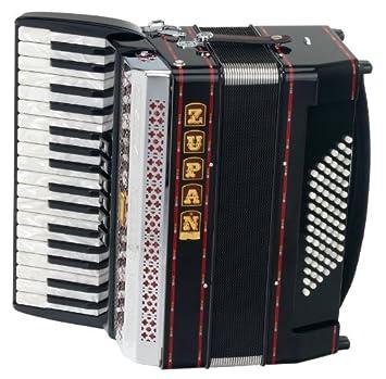 Zupan Alpe Iii 72 Mh Akkordeon Schwarz Amazon De Musikinstrumente