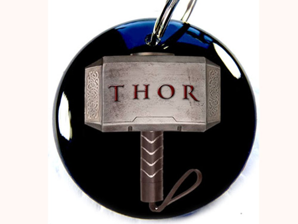 Pet ID Tags Dog Tags Thor Avengers (Large1 1/2'') by Pet Tags (Image #1)