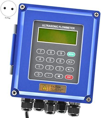 SNOWINSPRING TUF-2000B TS2 Ultraschall Durchflussmesser DN50Mm-DN700Mm Wand Montage Ultraschall Durchflussmesser IP67 Schutz EU-Stecker