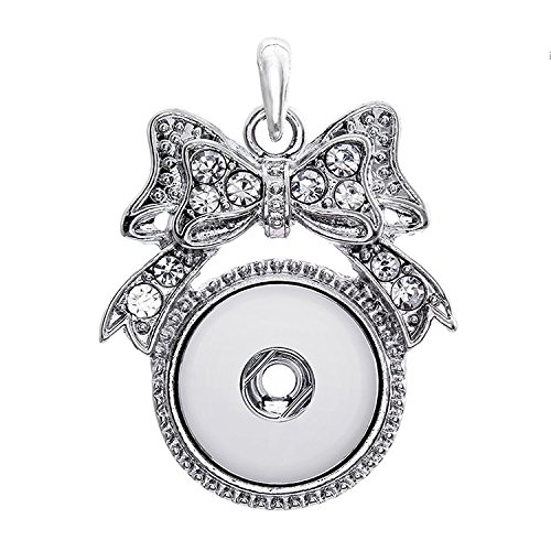 2017 New Crystal Alloy Pendant for Fit Noosa Necklace Snap Chunk Button A71
