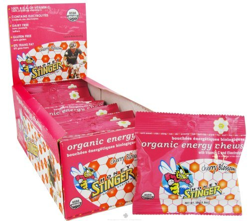 Honey Stinger - Energy Chews Organic Cherry Blossom - 1.8 oz.