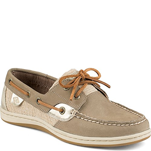 Damen Sperry, Koifish Bootsschuh Taupe Platinum