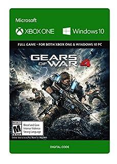 Gears of War 4 - Standard Edition - Xbox One/Windows 10 [Digital Code] (B01EZB92QM) | Amazon Products