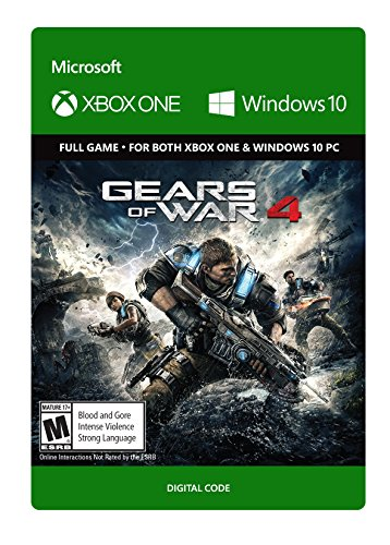 Gears of War 4 - Standard Edition - Xbox One/Windows 10 [Digital Code]