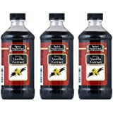 Spice Supreme Vanilla Extract, Imitation, 8-ounce (Pack of 3)