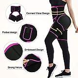 FeelinGirl Neoprene Thigh Trimmer Compression Brace for Hip Brace Thigh Compression Sleeve