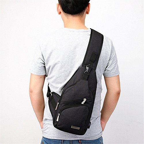 MOGUU Multifunktionale Rucksack Business Travel School Schultasche Wasserdichte Rucksack Mehrere Fach Usb Jack Rucksack, Blau Backpacks black