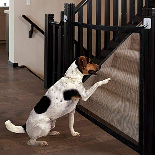 MOO&NOO Magic Gate Pet Safety Gate Portable Folding Guard Install Anywhere for Dog Cat Baby, Fits Spaces Between 32'' to 39'' Wide by MOO&NOO (Image #7)