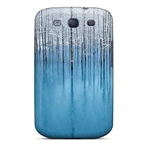 Unique Design Galaxy S3 Durable Tpu Case Cover Snow Pond