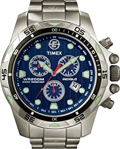 Timex Men's T49799 Expedition Dive Style Stainless Steel Blue Dial Watch
