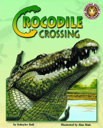 Crocodile Crossing - An Amazing Animal Adventures Book (Mini book) (Amazing Animal Adventures (Mini)) by Soundprints Corp Audio