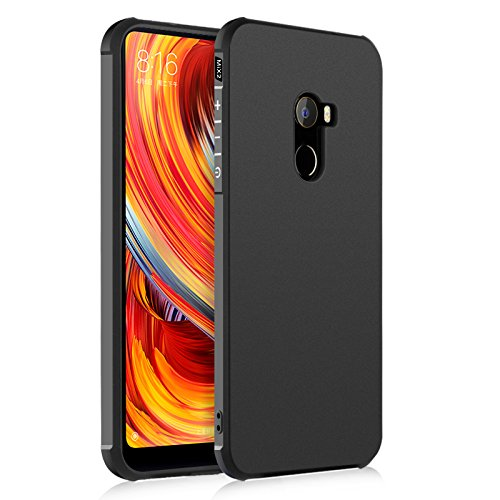 promo code 70878 b1bfd StarCity Case for Xiaomi Mi Mix 2, [Shock Absorption] [Anti Scratch] Soft  Flexible TPU Durable Cover Case for Xiaomi Mi Mix 2 (Black)