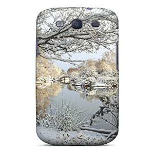 Top Quality Protection Park In Winter Case Cover For Galaxy S3