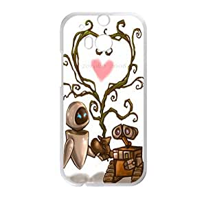 EROYI wall-e and eve wide Case Cover For HTC M8 Case