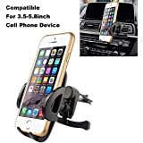 Air vent Car Mount, Kainnt Universal Grip Magic Smartphone Holder for iPhone7, 7plus,6s,6s plus, 6,6Plus,Samsung Galaxy S3, S4, S5,LG,and 3.5-5.8inch Smartphone and GPS (093-85)