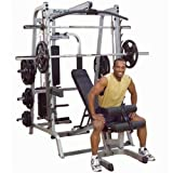 Body Solid GS348QP4 Series 7 Smith Gym with Bearing Smith Machines and Selectorized Latch For Sale