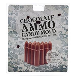 Amazon.com: Chocolate Candy Bullet Mold - Full Sheet - This ...